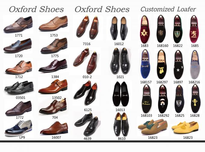 Oxford Business Office Dress Men Formal Dress Shoes , Monk Strap Shoes