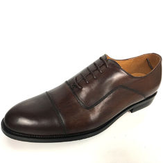 Customized Styles Mens Leather Dress Shoes / Dress Formal  Lace Up Shoes
