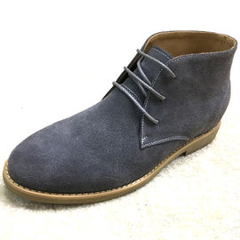 Big Size Italian Stylish Mens Suede Desert Boots , Winter Ankle Premium Suede Boot