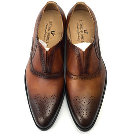 Italy Handmade Leather Men Formal Dress Shoes Oxford Office Shoes