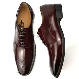 Cow Leather Lining and Double Leather Welt Men Office Dress Shoe