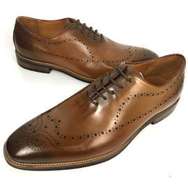 England Style Fashion Men Office Formal Leather Brogue Shoes With Big Size