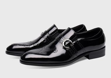 Fully Handcrafted Mens Monk Strap Shoes Wear - Resistant Four Seasons General