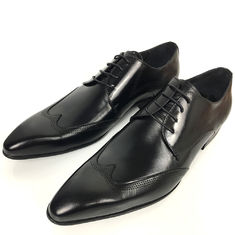 Europe Size 39 - 47 Men'S Wedding Dress Shoes / Leather Lace Up Brogue Shoes