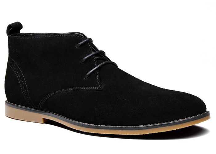Rubber Mens Suede Ankle Boots  cfba72c8a9b