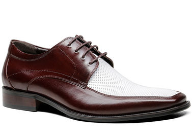 Customized Men'S Wedding Dress Shoes Handmade Full Grain Leather Goodyear Welted Shoes