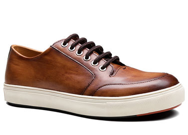 Vintage Mens Lace Up Casual Shoes , Outdoor Comfortable Fashionable Shoes