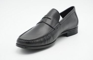 Dress Moc Mens Leather Loafers Brand Famous Design Holton Penny Loafer for Men