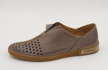 Customizable Full Color Beautiful Mens Leather Casual Shoes Innovative Design