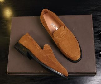 Crafted Suede Cortex Classic Mens Leather Loafers Styling Swede Shoes
